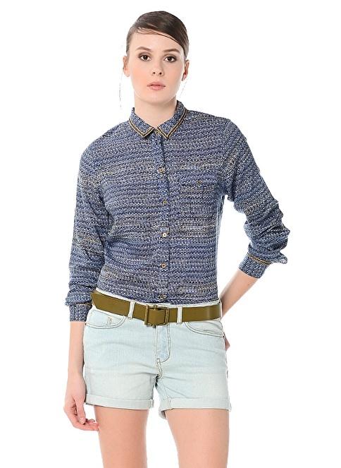 Vero Moda Jean Şort Mavi